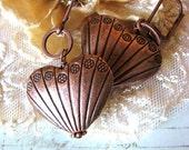 Heart of Copper Earrings