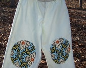 3T Cotton Pull On Pants with Knee Patches