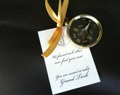 Small Pocket Compass Wedding Favors - SAMPLE