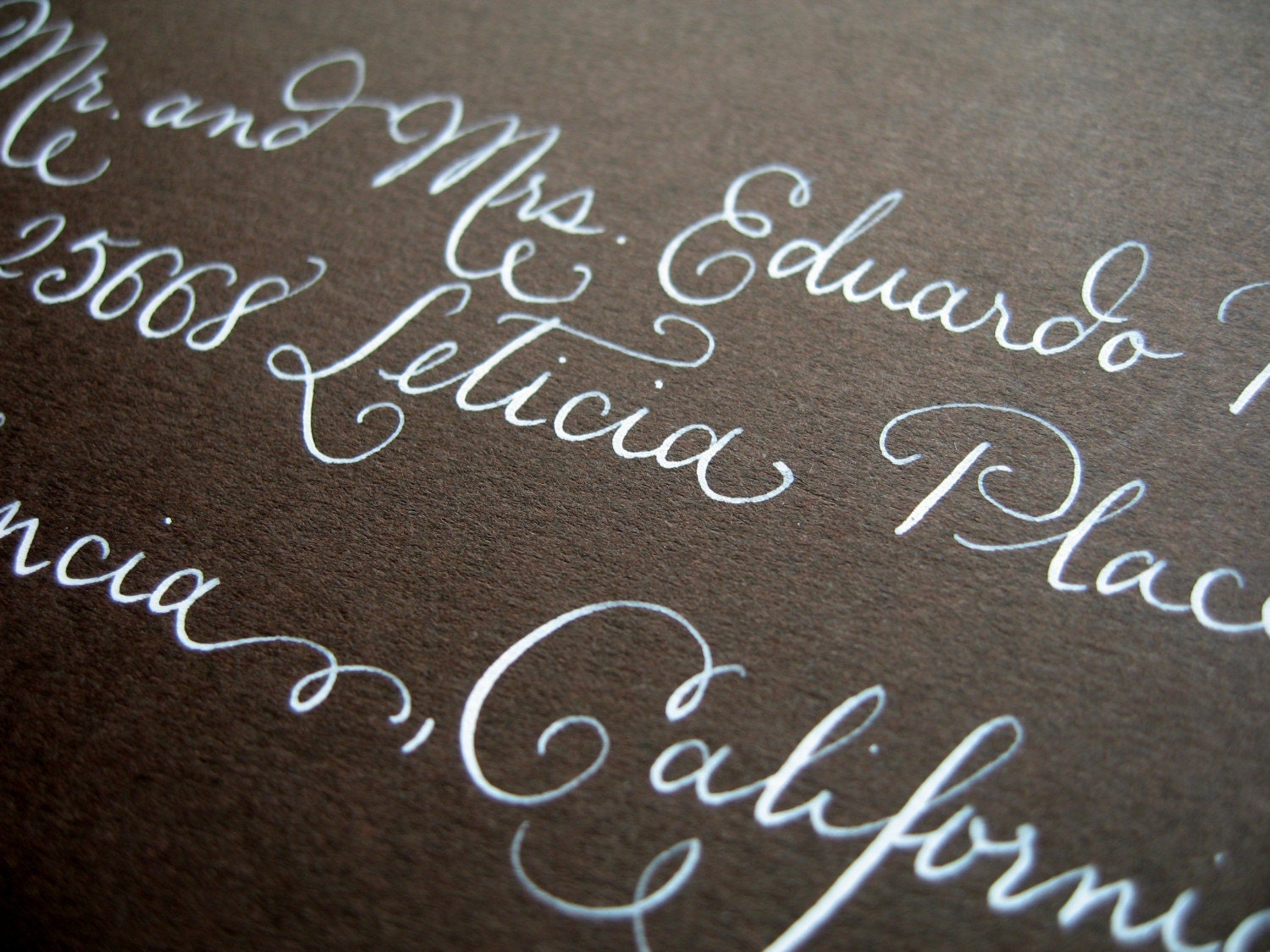 Calligraphy Samples By Lhcalligraphy On Etsy