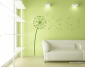 Items Similar To Medium Dandelion Wishes Vinyl Wall