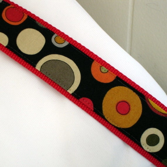 chain martingale dog collar - clown - 1.5 inches wide - limited slip style - ready to ship