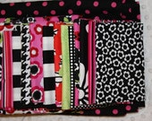 Modern Grace Black and Pink Quilt Kit