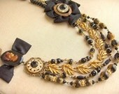 French Librarian Necklace SALE now 122