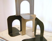 Vintage Industrial Library Bookends