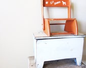 Vintage Children's Chair or Stool