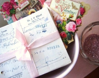 Vintage Love Potions Valentine Bundle for Home or Wedding Decor