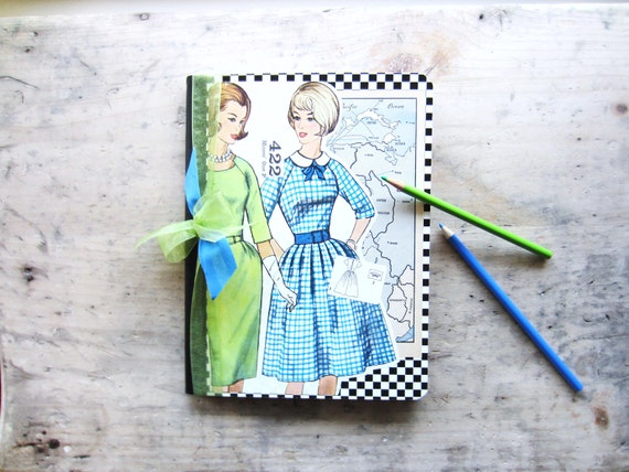 Vintage School Journal or Notebook