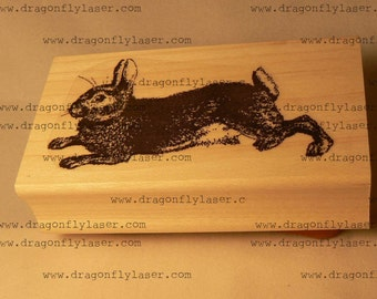 Hare rubber stamp WM P39