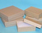 Brown Kraft Jewelry Box Supplies Destash