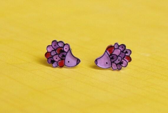 Hedgehogs Studs Earrings