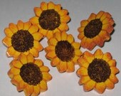 Sunflower Push Pins for Bulletin Board