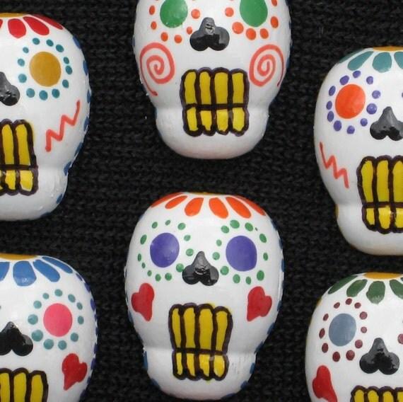 Day of the Dead Dia de los Muertos Push Pins for Bulletin Board