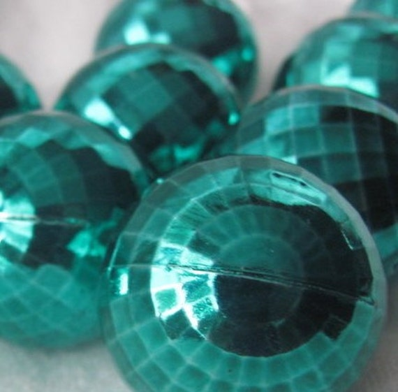 Lot Of 12 Green Ornaments