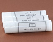 Lemon Meringue Pie Unsweetened Lip Balm Tube with Shea Butter