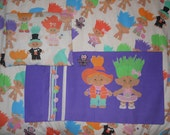 Treasure Trolls 3 Piece Twin Bed Set - Flat & Fitted Sheets With Pillow Case