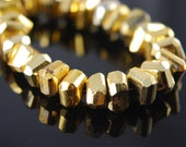 1/2 strand of large pyrite nuggets.  WHOLESALE PRICES 20.00