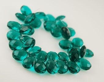 6 pieces of aqua green quartz WHOLESALE 12.00