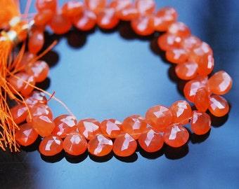 1/2 strand carnelian heart brios WHOLESALE PRICE 20.50 sale 18.00