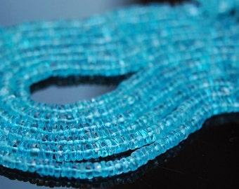 1/2 strand of apatite roundelles