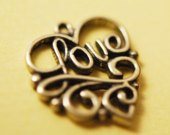 LOVE charm Sterling silver
