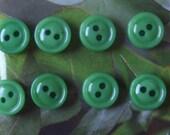 Push Pins - Green Buttons