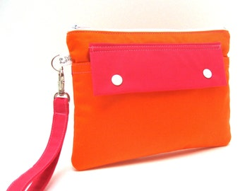 Clutch Wallet Wristlet Purse - you choose the color