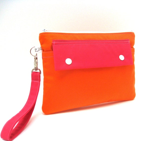 Clutch Wallet Wristlet Purse - you choose the color