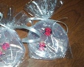 Lady Bug Soaps  2 party favor soaps Lady bug wedding  Lady bug shower favors Lady bug birthday party