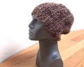 SPOTTED OWL Ribbed Slouchy Beanie Knit Hat