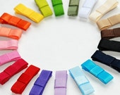 Itty Bitty Baby Size...Pick 3 NON SLIP Solid Colored Itty Bitty Mini NON SLIP Snap Hair Clips...Over 30 Colors to Pick From...Buy 4 sets get the 5th FREE