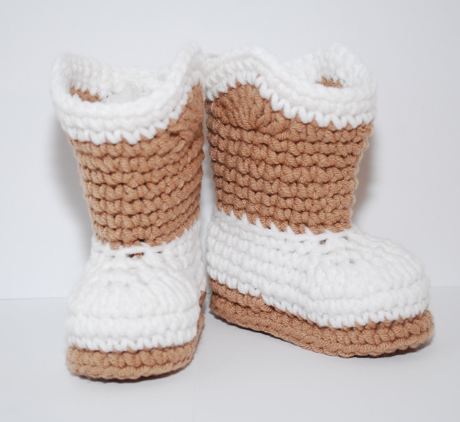 Free Crochet Patterns Baby Christening Gowns : Crochet cowboy boots booties shoes as shown or custom u choose