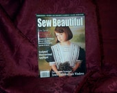 Sew Beautiful Heirloom Magazine with Martha Pullen Heirloom Sewing Patterns SEWBUSY12