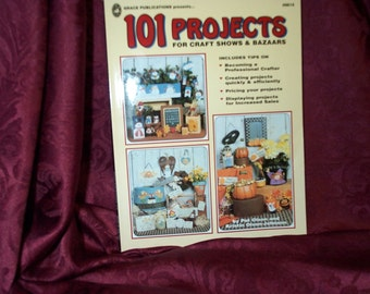 101 Projects Craft Shows and Bazaars Project Painting Book SEWBUSY12