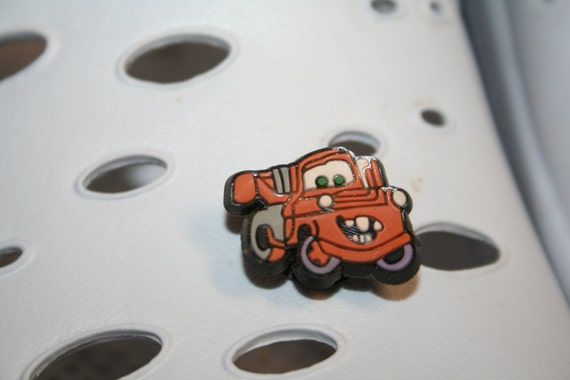 Pixars Mater Cars Jibbitz for Crocs Shoe Charm Jewelry SEWBUSY12