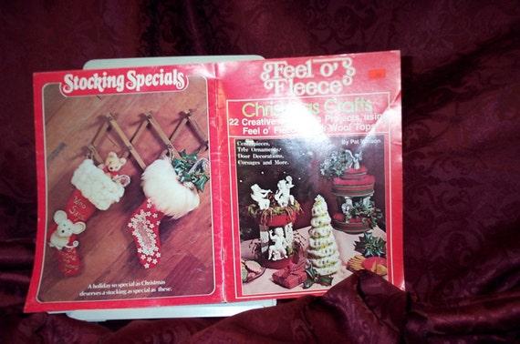 Vintage Christmas Crafts Feel O' Fleece  Booklet SEWBUSY12