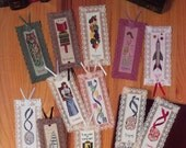 Bookmarks For Favorite Subjects Pattern Leaflet