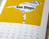 2010 Urban Legends Calendar (U.S. Cities) w\/free pin set