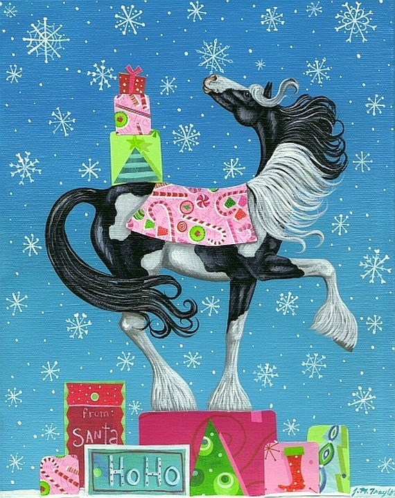 Christmas Horse Decorations