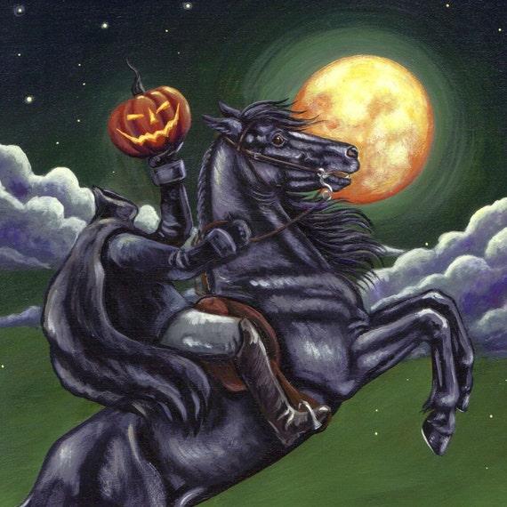 Sleepy Hollow Halloween: Headless Horseman Of Sleepy Hollow Halloween By