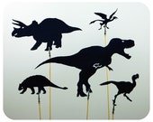 Cretaceous I Shadow Puppet Set