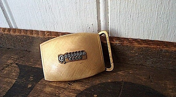 Vintage Balfour 12k gf belt buckle - trucker exec service award