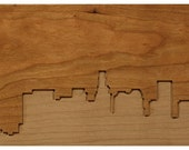 Dave Marcoullier - Wood Routing (Los Angeles Skyline 6x12) - Cherry