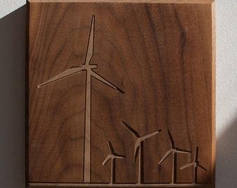 Windmill 7x7 - Walnut