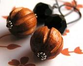 ONYX DROP - earrings