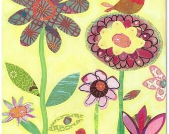 Happy Garden - 11 x 14