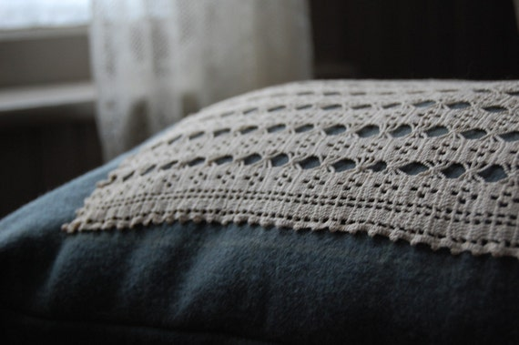 RESERVED simple wool and crochet