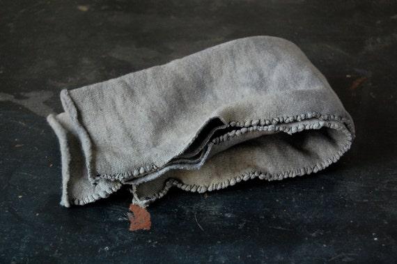 arm warmers organic hemp fleece naturally hand dyed