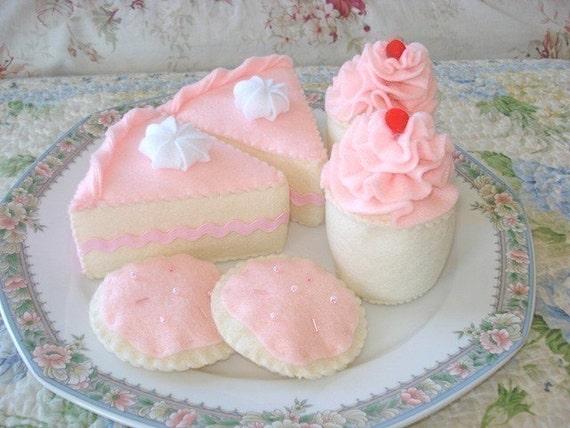 Princess Tea Party Felt Dessert Set