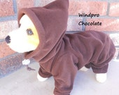 Snow and Wind Resistant Body Suit for Small Dogs-Custom Made, 4 colors